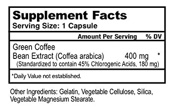 MDR Green Coffee Bean Extract 60 capsules