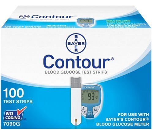 Bayer Contour  Blood Glucose, 100 Test Strips