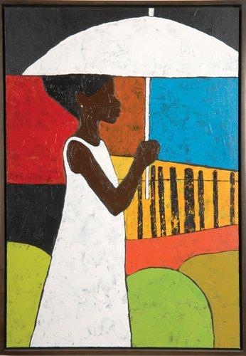 Sylvia Walker The White Umbrella Jigsaw Puzzle 500pc