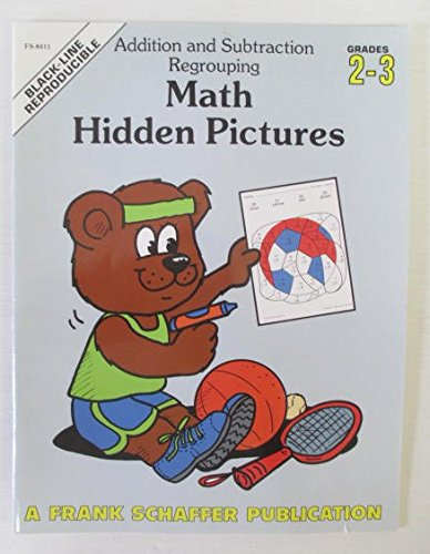 Math hidden pictures: Addition and subtraction regrouping : grades ...