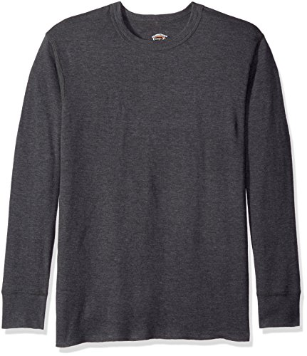 - Duofold Men's Mid Weight Wicking Thermal Shirt, Granite Heather, M