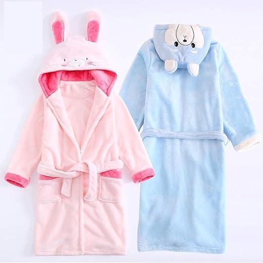 Niños Bata de Baño Albornoces Franela Encapuchado Pijama Cosplay Disfraces Animales Vestirse Unisexo: Amazon.es: Ropa y accesorios