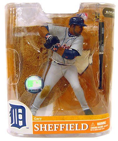 Gary Sheffield Detroit Tigers McFarlane Toys MLB Sports Picks Exclusive Series 20 Action Figure Grey Jersey