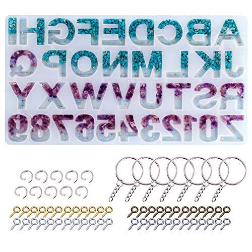 Alphabet Backward LETS RESIN Silicone product image