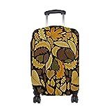 Sugar Skull Dia De Los Muertos Travel Luggage Protector Baggage Suitcase Cover Fits 18-21 Inch Luggage