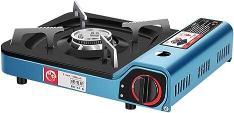 du hui shop Portable Azul de la Estufa de Gas butano, Ideal ...