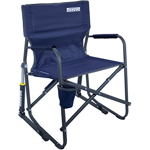 Cheap  GCI Outdoor Freestyle Rocker Portable Folding Rocking Chair, Indigo