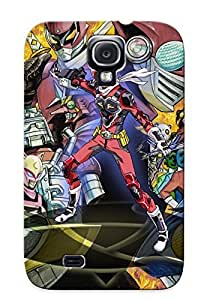 CsgtSFu1798KdICh Tough Anime Galaxy S4 Case Cover/kimono Case For Galaxy S4(noitamina Fall 2013 Anime Amurai Flamenco Key Visual Cm Eventhstyle) / New Year's Day's Gift