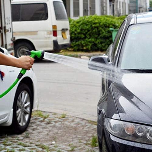 SXGKY Garden Hose 7 In 1 Expandable Flexible Garden Water Hose Plastic Hoses For Garden Car FF (Lengh : 175ft)