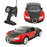 Finally, your time to own the most expensive sports car in the world has come! Get this scaled down 1:10 remote control Red Bugatti and have a feel of what it's like to drive a Bugatti driven only by super rich and famous celebrities! It come...