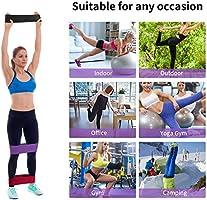 PELLOR Bandas Elasticas Fitness, Set de 3 Bandas de Ejercicios de ...