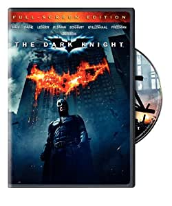 Amazon.com: The Dark Knight (Full-Screen Single-Disc ...