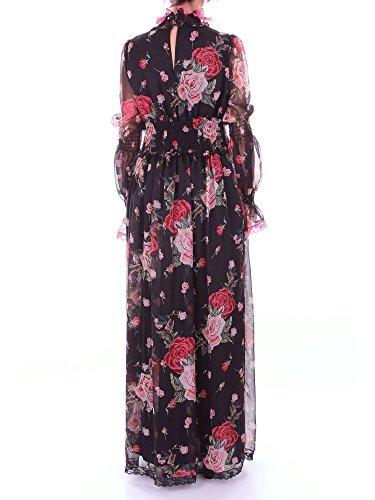 Langes Fantasie Kleid Schwarze NORA BARTH Damen 11037193 YPq4xOwE