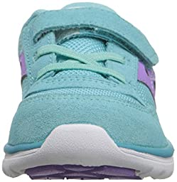 Saucony Jazz Lite Sneaker (Toddler/Little Kid), Turqoise/Purple, 9.5 M US Toddler