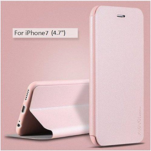 For Apple Iphone 7 Plus Flip Cover Case X Level Ultra Thin Stand Flip Cover Flip Case For Apple Iphone 7 Plus Stand Flip Cover Case Rose Gold Buy For Apple