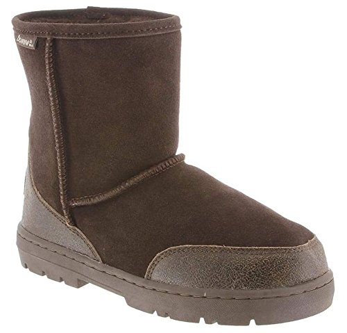 BEARPAW Men's Patriot Snow Boot, Chocolate, 10 M US