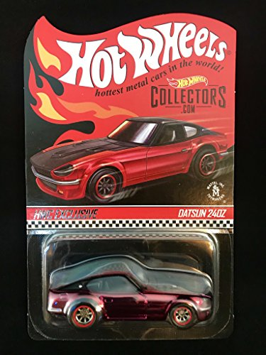 Hot Wheels RLC Datsun 240z in Red Limited Edition Of 6500