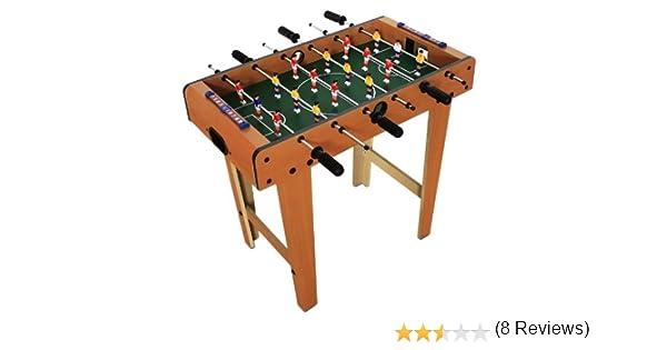 Futbolín de madera – 69 x 62 x 37 cm: Amazon.es: Juguetes y juegos