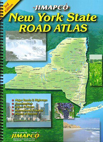 New York State Road Atlas - New York State Map