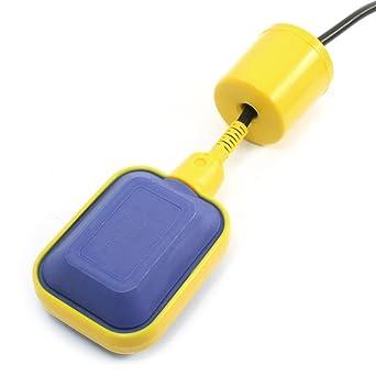 Sourcingmap - Interruptor de flotador de líquido del sensor del control de nivel de agua 5m