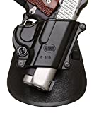Fobus Roto Paddle Holster Fits 1911 Style, Right Hand, Black