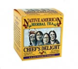 Native American Herbal Tea - Chief's Delight Tea (12 Count)