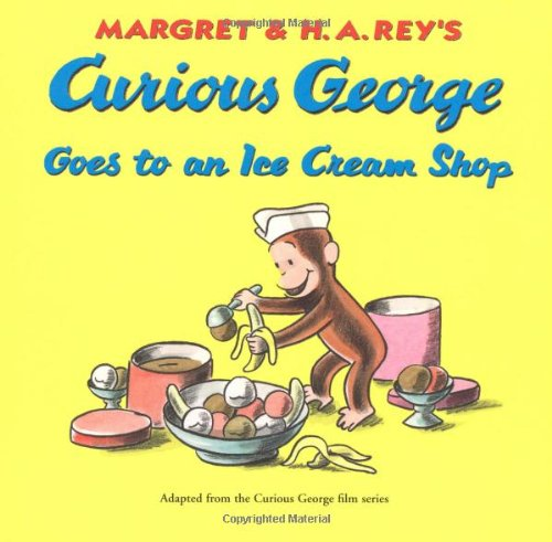 Curious George Goes to an Ice Cream Shop (Best Baby Shops In Singapore)