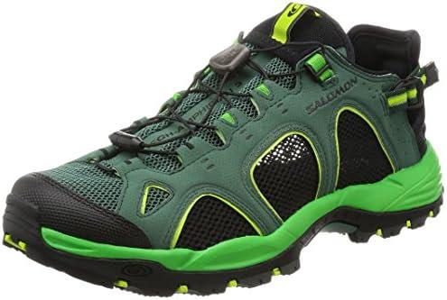 Salomon Techamphibian 3, Zapatillas de Trail Running para Hombre, Verde (Bistro Green/Classic Green/Lime Green), 40 EU: Amazon.es: Zapatos y complementos