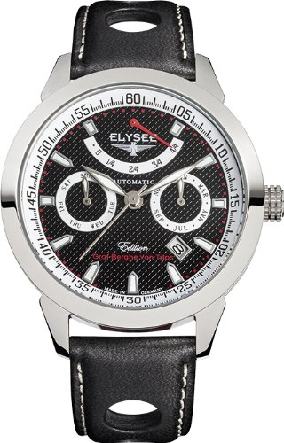 Elysee Taffy I Miyota 9100 Automatic with Power Reserve Indicator and Calendar 17011