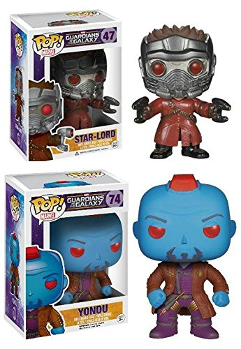 Funko POP! Guardians Of The Galaxy Star-Lord & Yondu - Vinyl Figure Set NEW