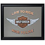 Harley-Davidson Winged Bar & Shield Mirror