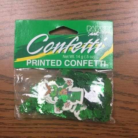 0.5 Ounce Printed Confetti - 1