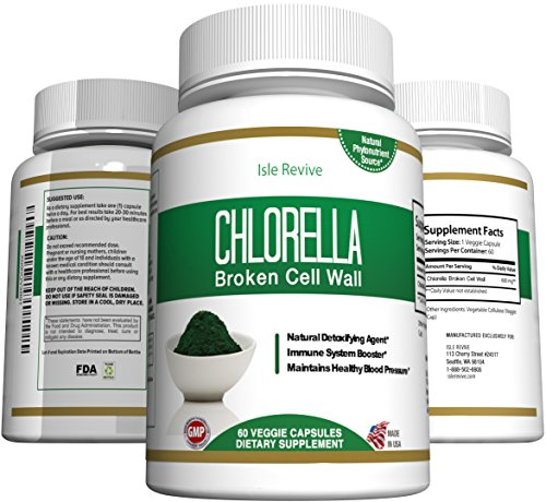 Chlorella Capsules Supplement Superfood Chlorophyll product image