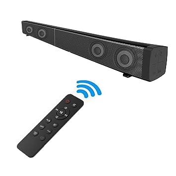 Fozela Soundbar, TV Sound Bar, Kabelgebundener Oder kabelloser ...