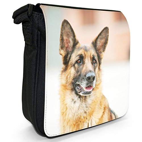 Fancy Hund Schäferhund Bandoulière Sac Deutscher A Pour Snuggle Femme Sitzend rZnq8rwR6