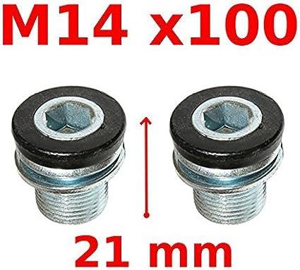 US MTB Road Bike 104BCD Crankset 9//16in 3 Bearing Pedals Crank Protector BB
