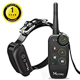 Shock Collar by Hipidog, Dog Training Collar with Remote, 1100YD, 2 Step Quick Switch Modes, Waterproof Rechargeable Anti Bark Electric Collar for All Size Dogs