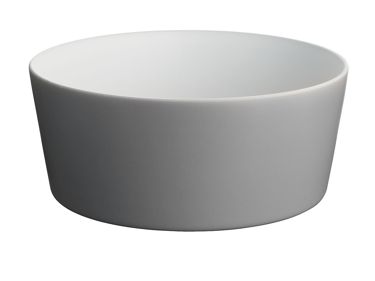 Alessi Tonale Salad Bowl, Dark Grey DC03/38 DG
