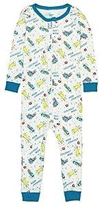 Intimo Goodnight Moon Little Boys' and Girls'Glow In The Dark Footless Sleeper Pajama