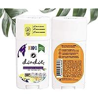 Desodorante natural para niños. Libre de Alumino. Libre de quimicos. Adicionado con aceite esencial tea tree oil y vitamina E