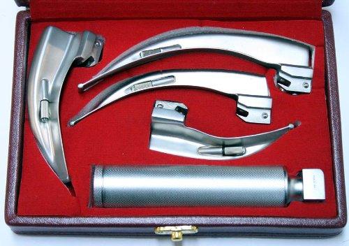 Defender EMT 5-Piece Laryngoscope Anesthesia Mac Set