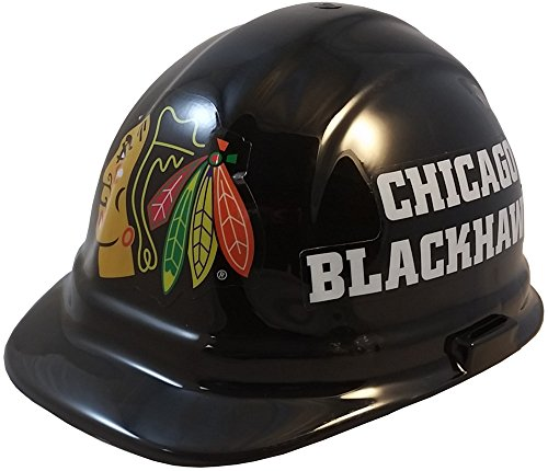 Wincraft NHL Hockey Ratchet Suspension Hardhats - Chicago Blackhawks Hard Hats ()