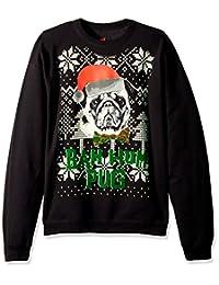 Hanes Mens Ugly Christmas Sweatshirt Sweatshirt