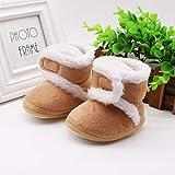 Baby Uggies Warm Boots Winter Brown Tan Booties (18-24 Months (12.5cm))