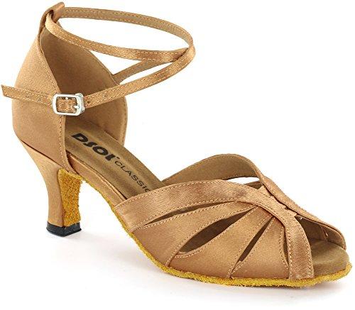 Shoes DC271308 Women's DSOL Tan DC271303 Latin Dance wBx18