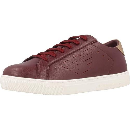 Emporio Armani - Zapatillas para Hombre, Color: Amazon.es: Zapatos y complementos