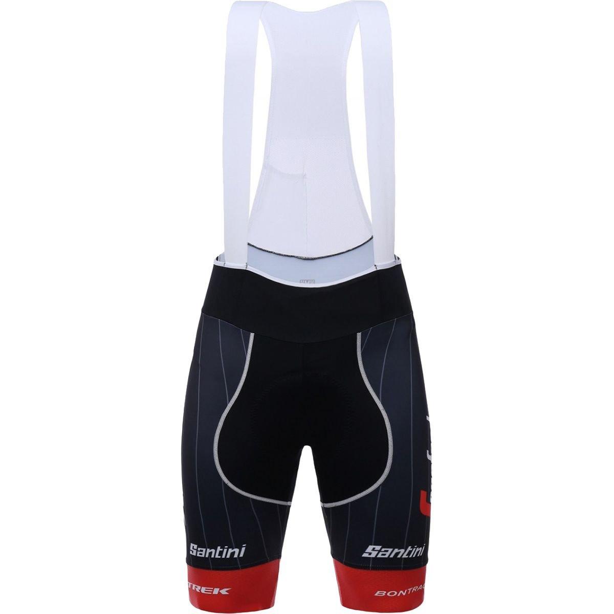 Santini trek-segafredo Pro Team Bib Short – Men 's B079S3LLLD Small|レッド レッド Small