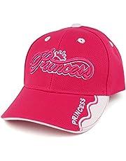 Trendy Apparel Shop Infant Size Princess 3D Embroidered Adjustable Baseball Cap