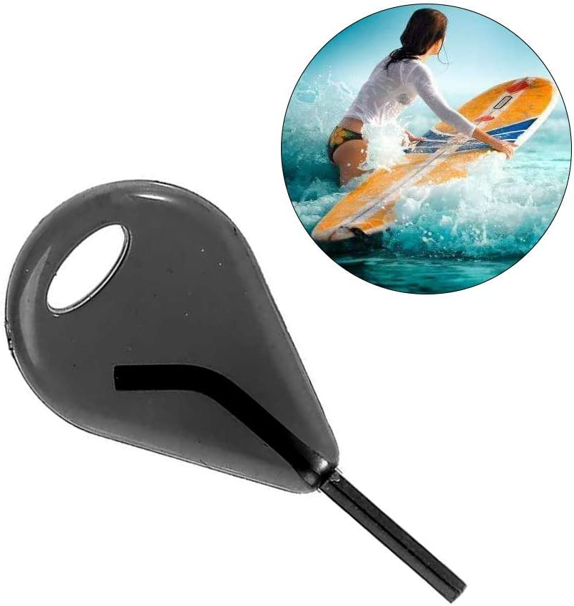 N\A 2Pcs Fin Key Durable Nylon Surfing Spare Fin Key Surfboard Accessories Fin Grub Screws and Key for Removing or Installing The Grub Screws That Hold You Fins in