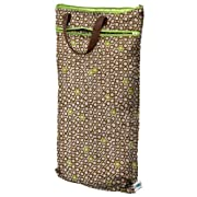 Planet Wise Hanging Wet/Dry Bag, Lime Cocoa Bean